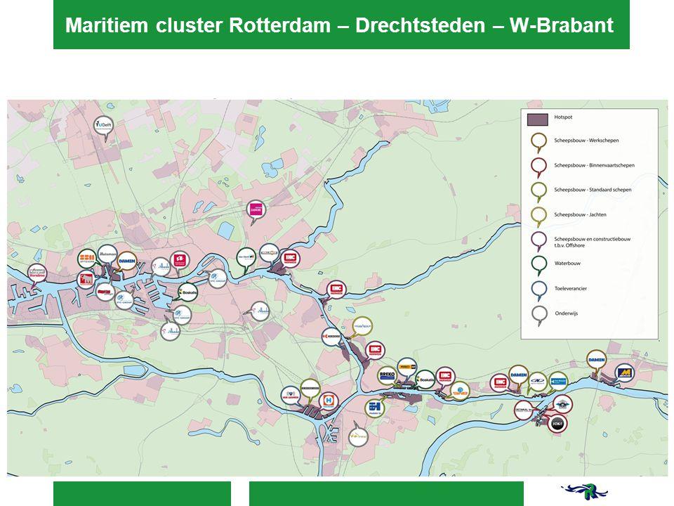 Maritiem cluster Rotterdam – Drechtsteden – W-Brabant