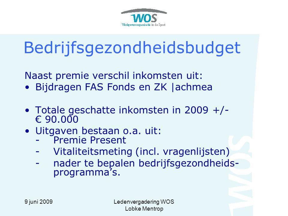 Bedrijfsgezondheidsbudget