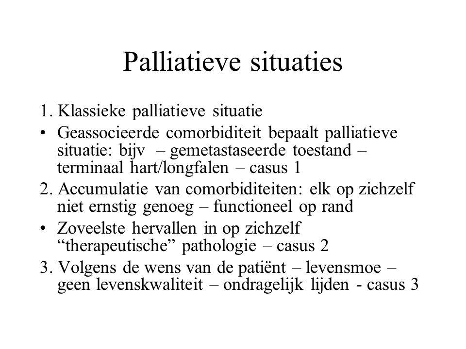 Palliatieve situaties