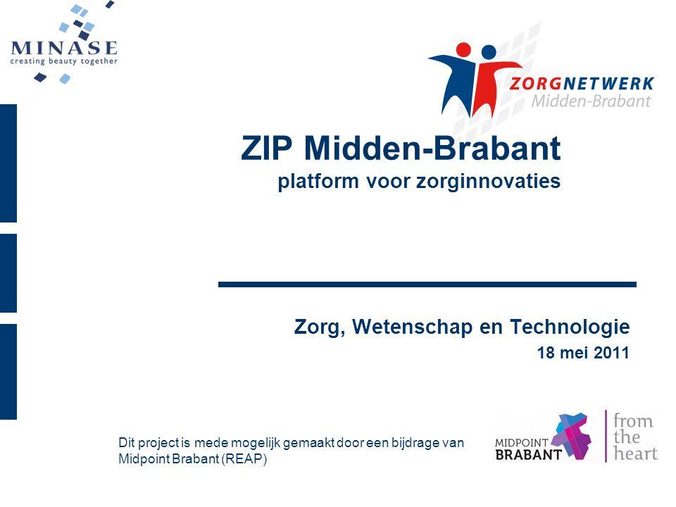 ZIP Midden-Brabant platform voor zorginnovaties