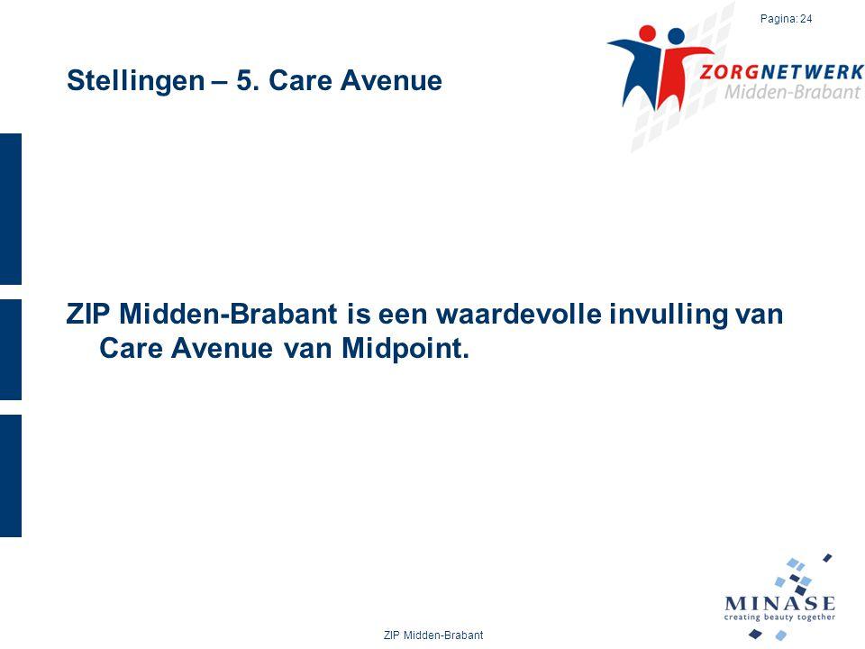 Stellingen – 5. Care Avenue
