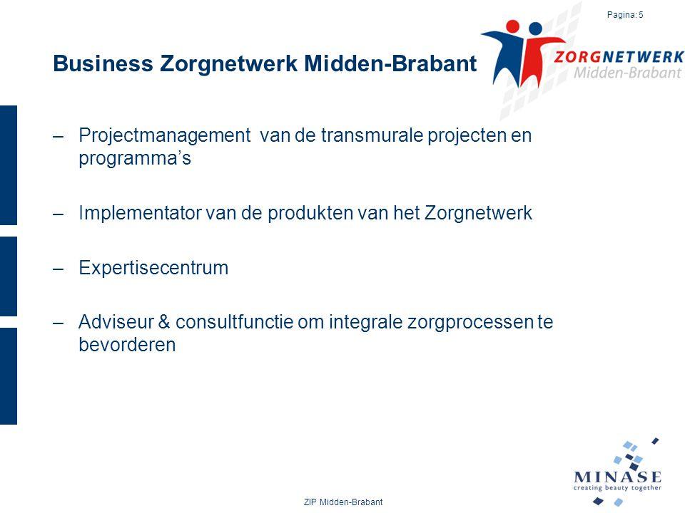 Business Zorgnetwerk Midden-Brabant