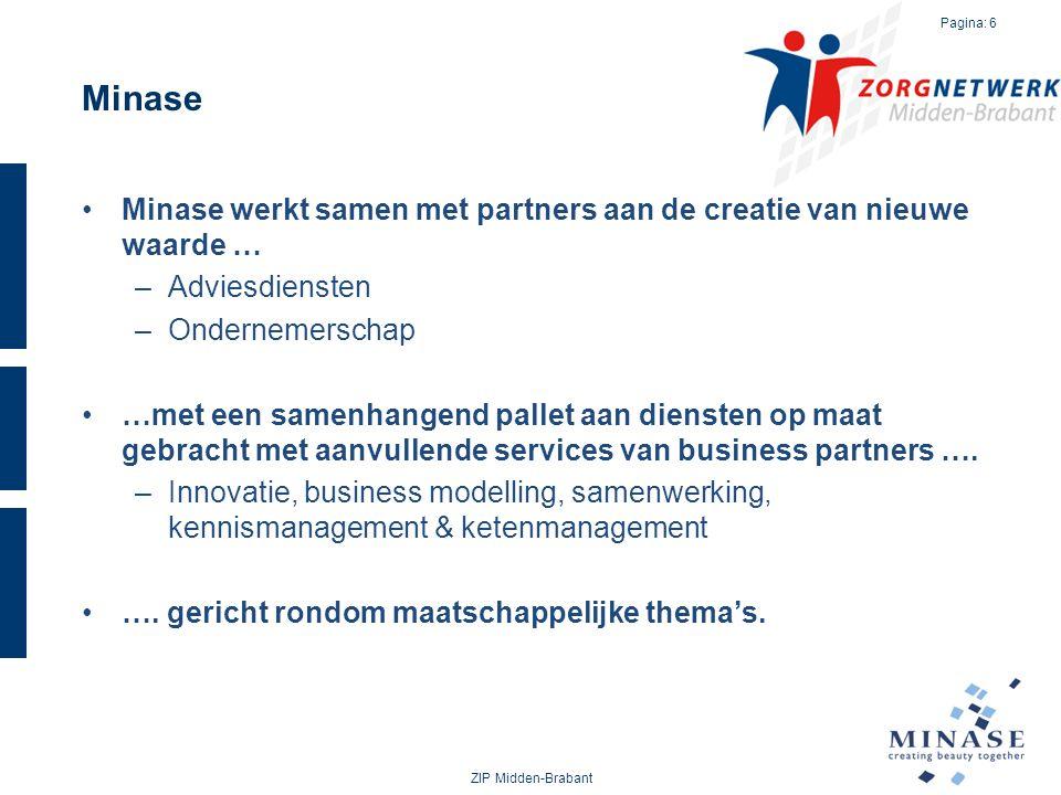 Minase Minase werkt samen met partners aan de creatie van nieuwe waarde … Adviesdiensten. Ondernemerschap.