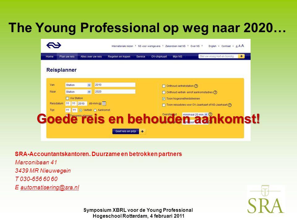 The Young Professional op weg naar 2020…