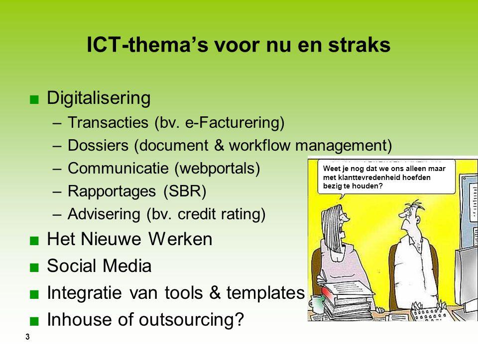 ICT-thema's voor nu en straks