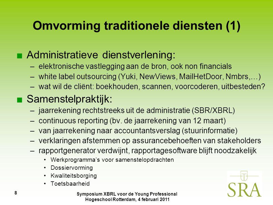 Omvorming traditionele diensten (1)