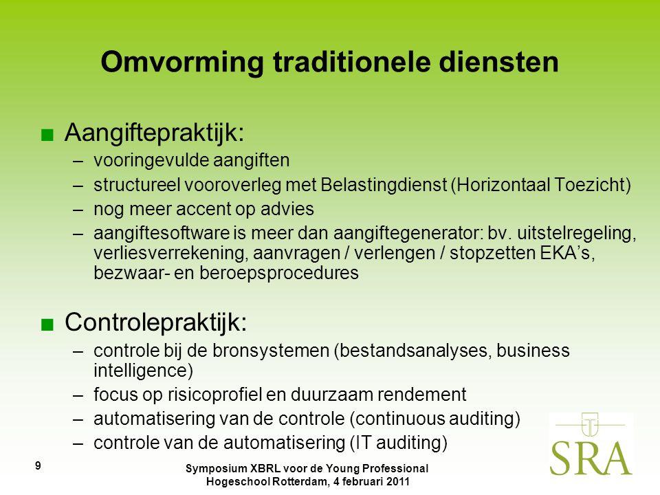 Omvorming traditionele diensten