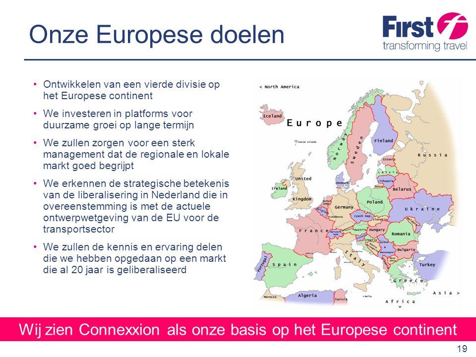 Wij zien Connexxion als onze basis op het Europese continent