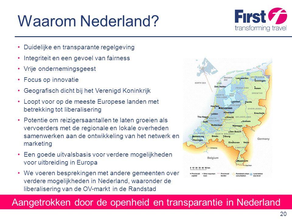Aangetrokken door de openheid en transparantie in Nederland