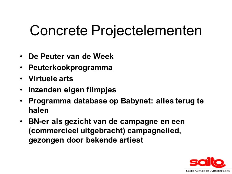 Concrete Projectelementen