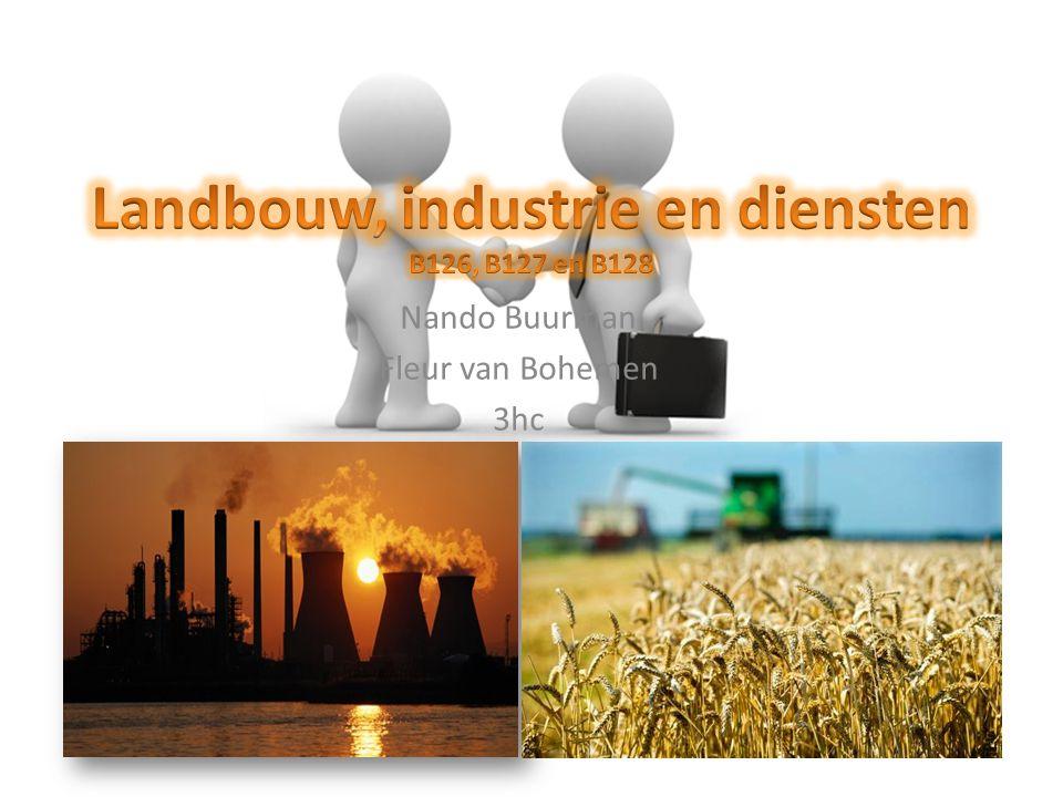 Landbouw, industrie en diensten B126, B127 en B128