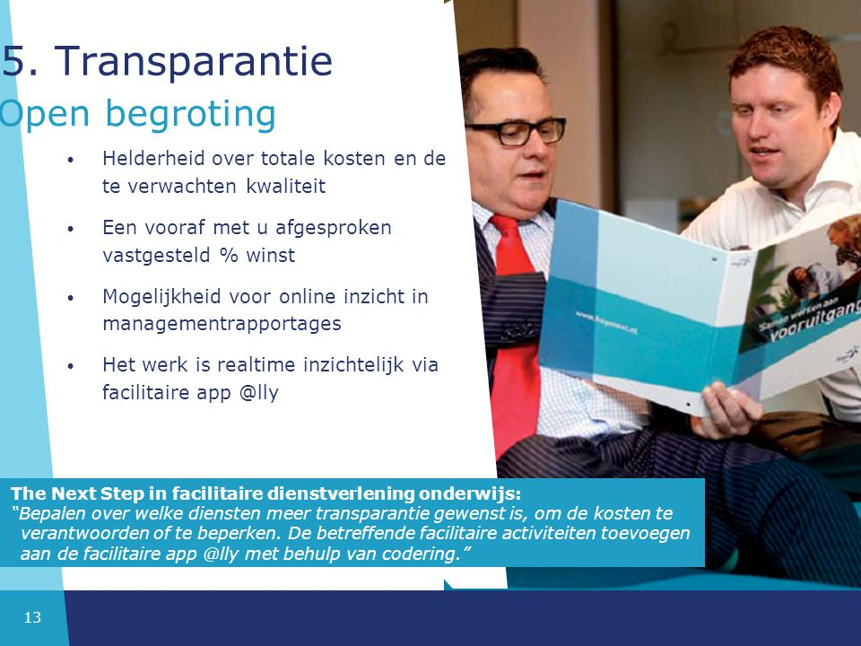 5. Transparantie Open begroting
