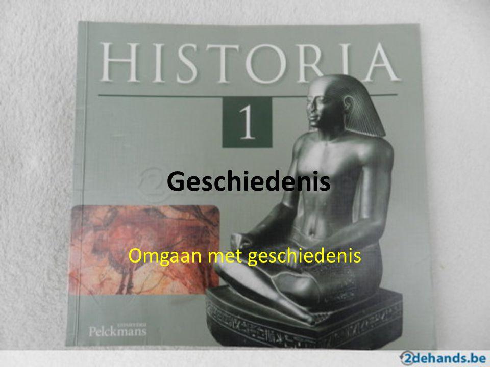 Omgaan met geschiedenis