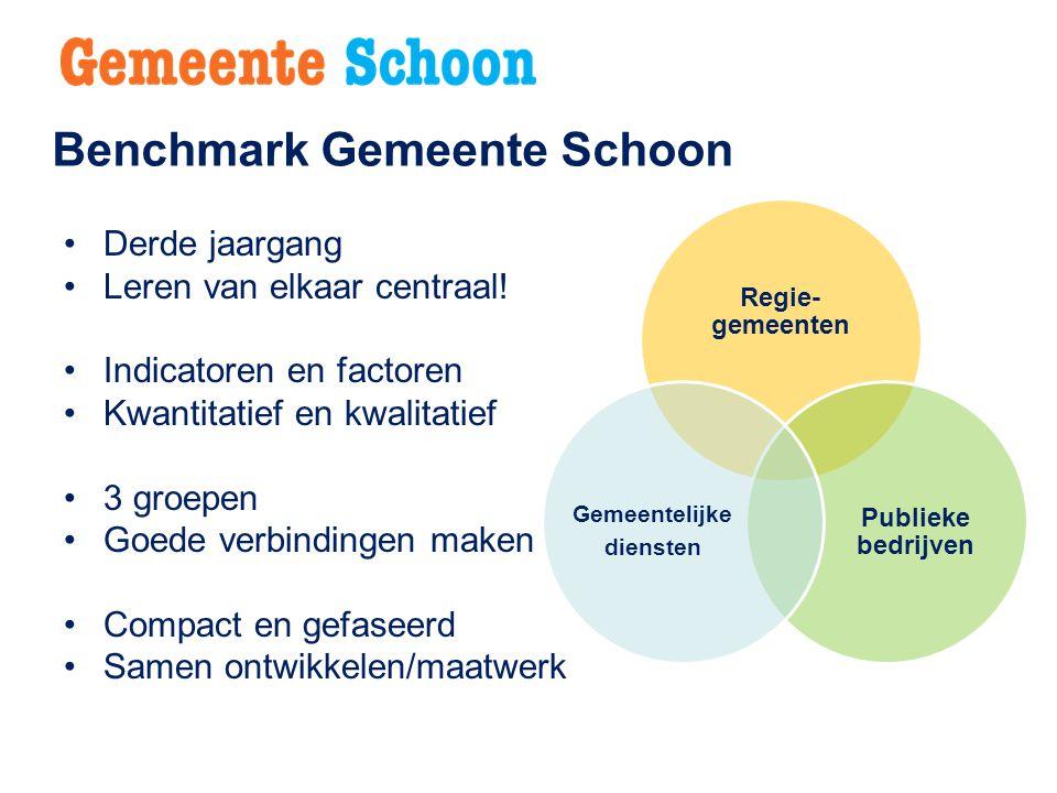 Benchmark Gemeente Schoon