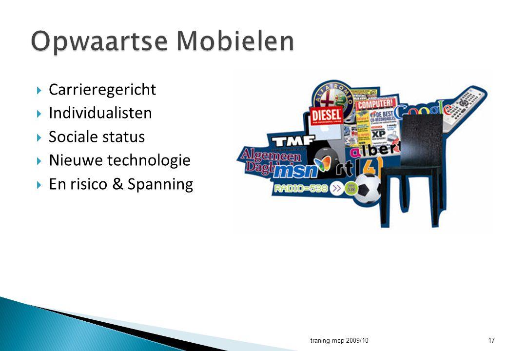 Opwaartse Mobielen Carrieregericht Individualisten Sociale status