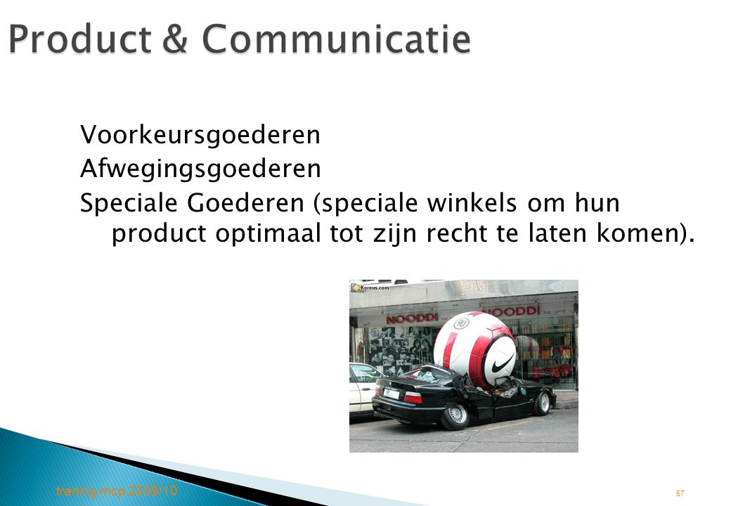 Product & Communicatie