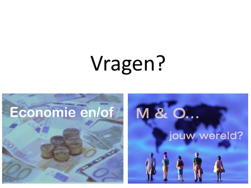 Vragen Economie en/of