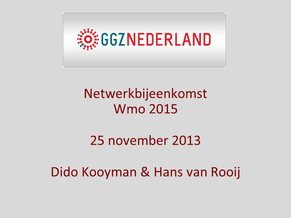 Dido Kooyman & Hans van Rooij