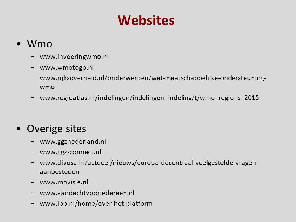 Websites Wmo Overige sites Regelarm Hoe Wie www.invoeringwmo.nl