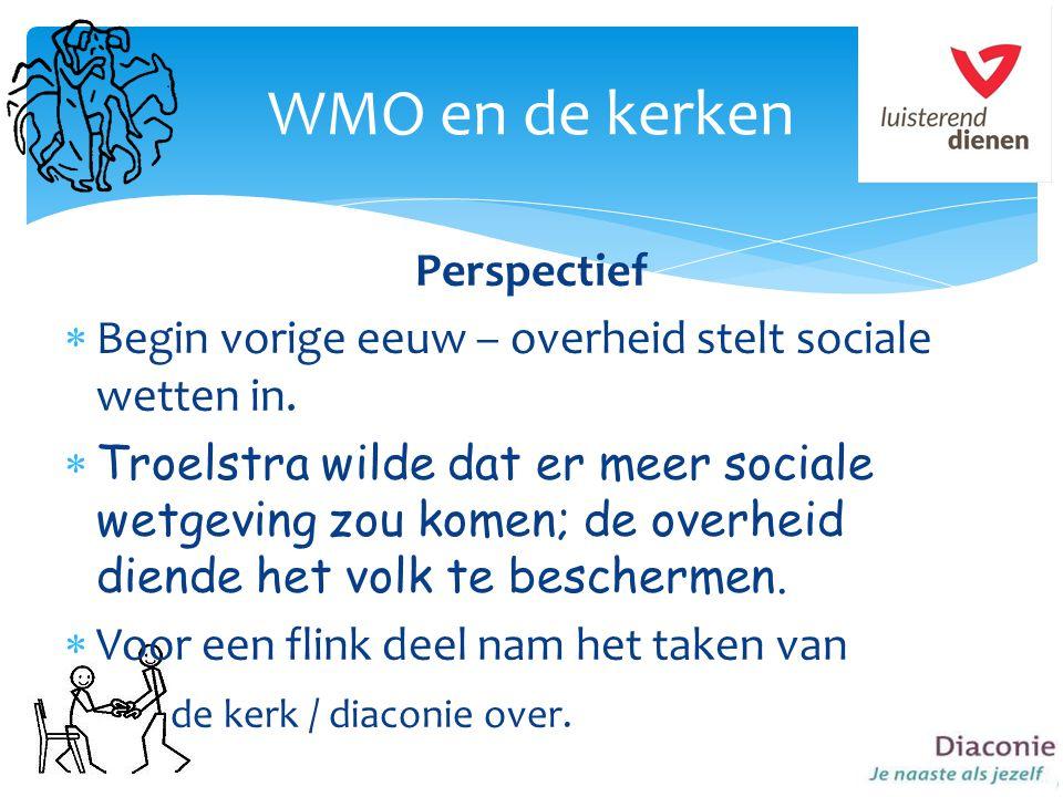 WMO en de kerken Perspectief