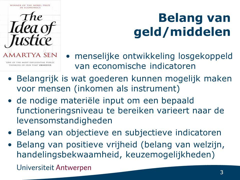 Vlaamse definitie van armoede