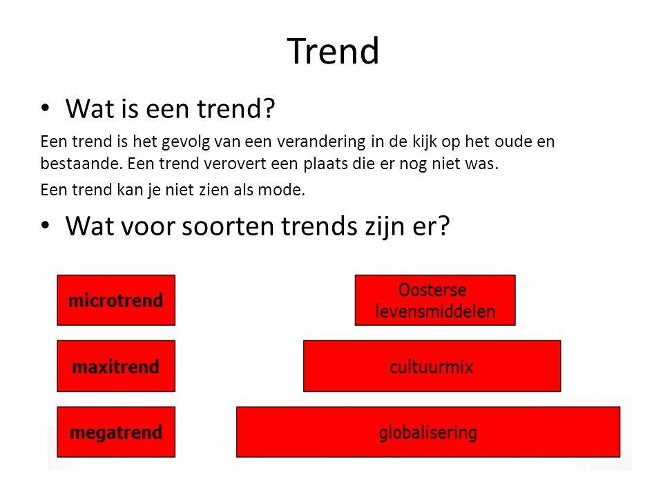 Trend Wat is een trend Wat voor soorten trends zijn er