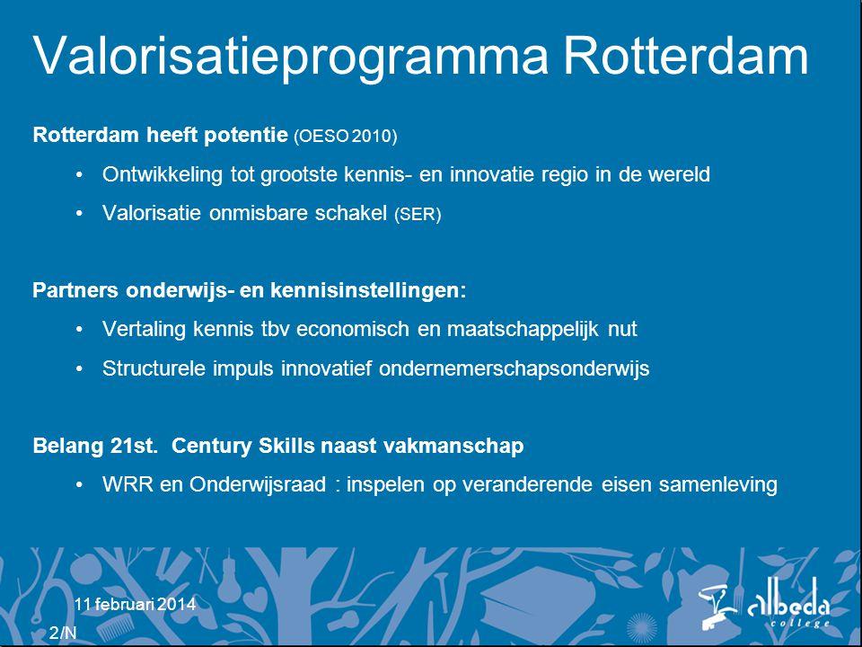 Valorisatieprogramma Rotterdam
