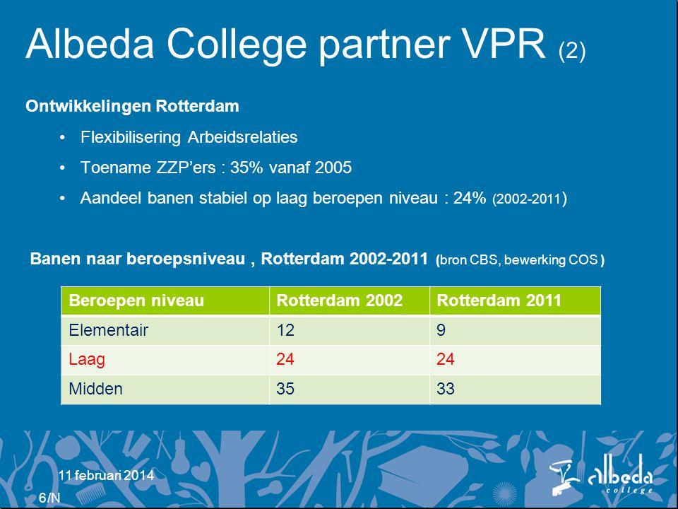 Albeda College partner VPR (2)