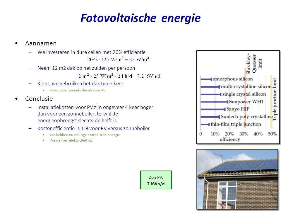 Fotovoltaische energie