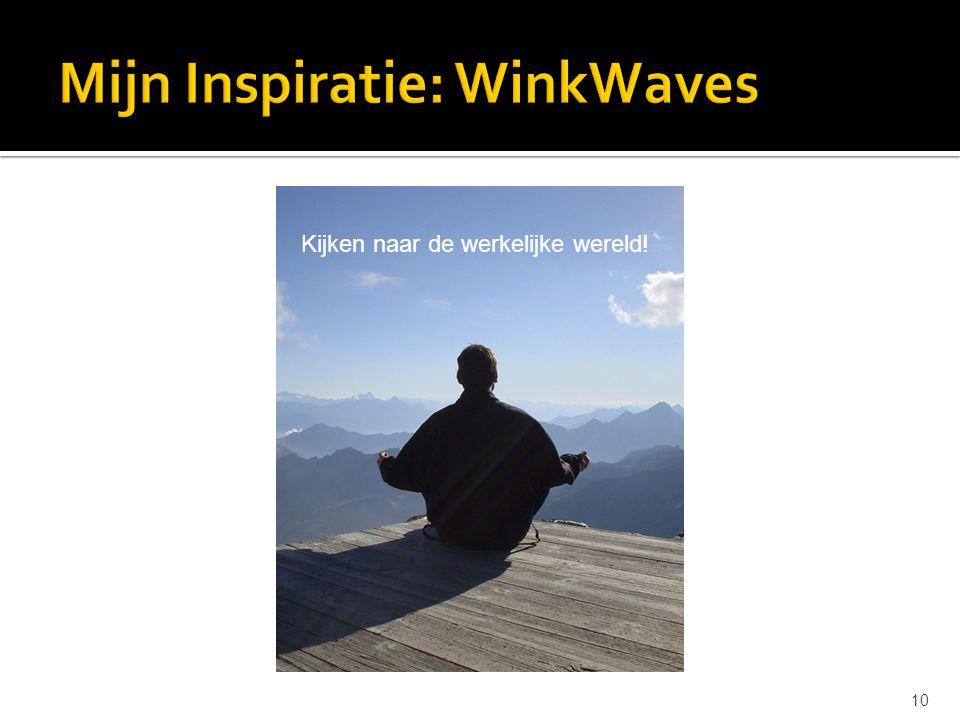 Mijn Inspiratie: WinkWaves