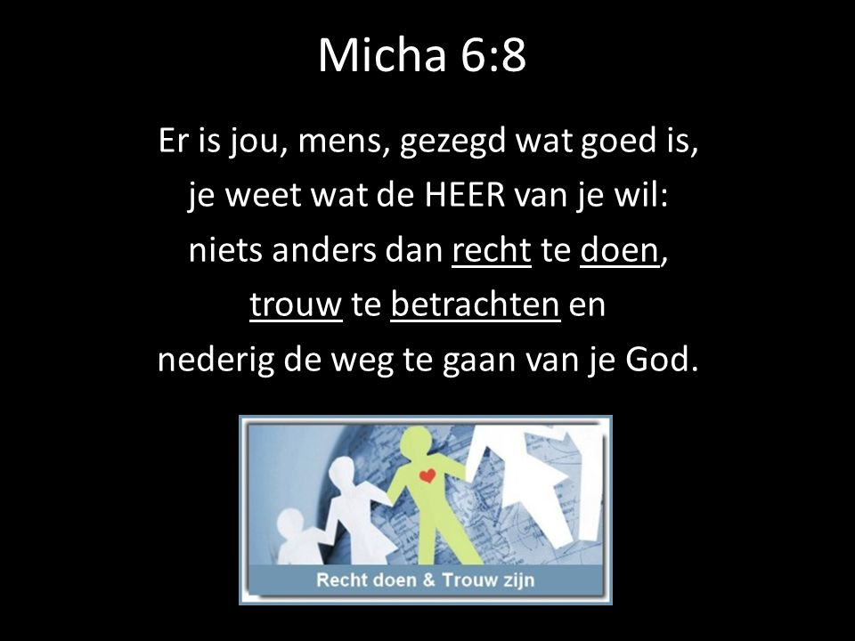 Micha 6:8
