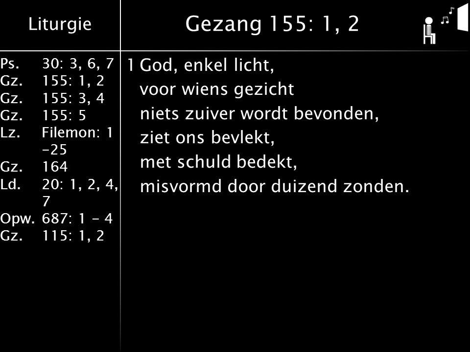 Gezang 155: 1, 2