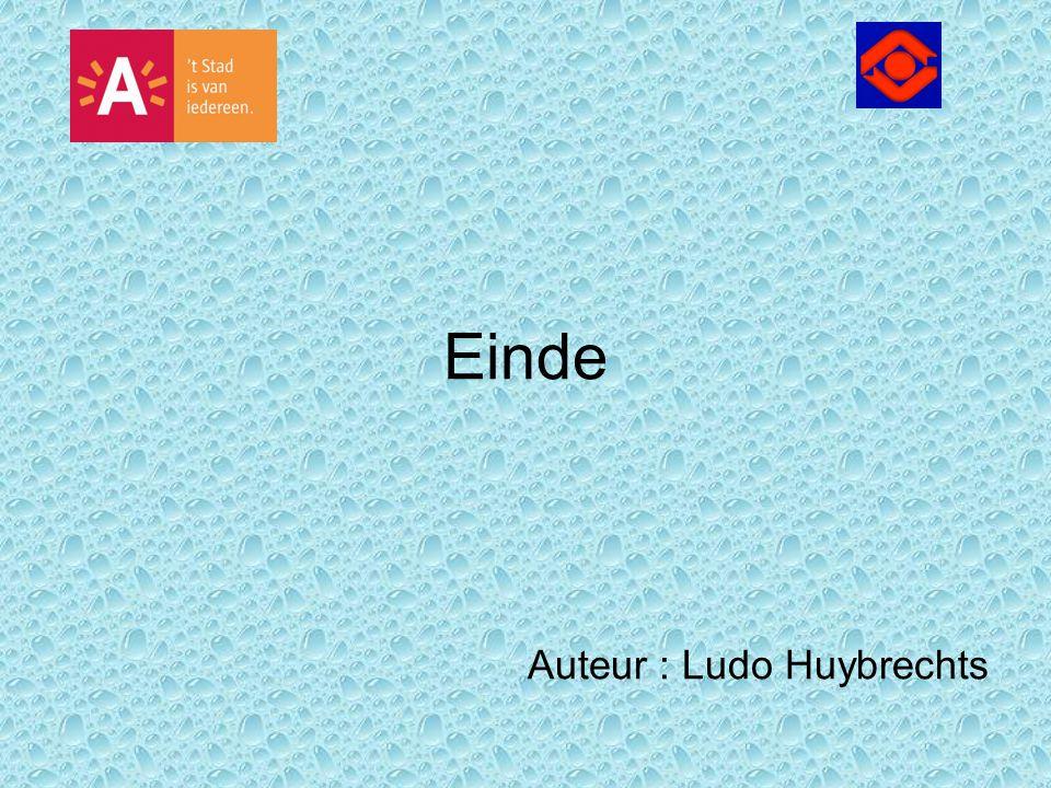 Einde Auteur : Ludo Huybrechts