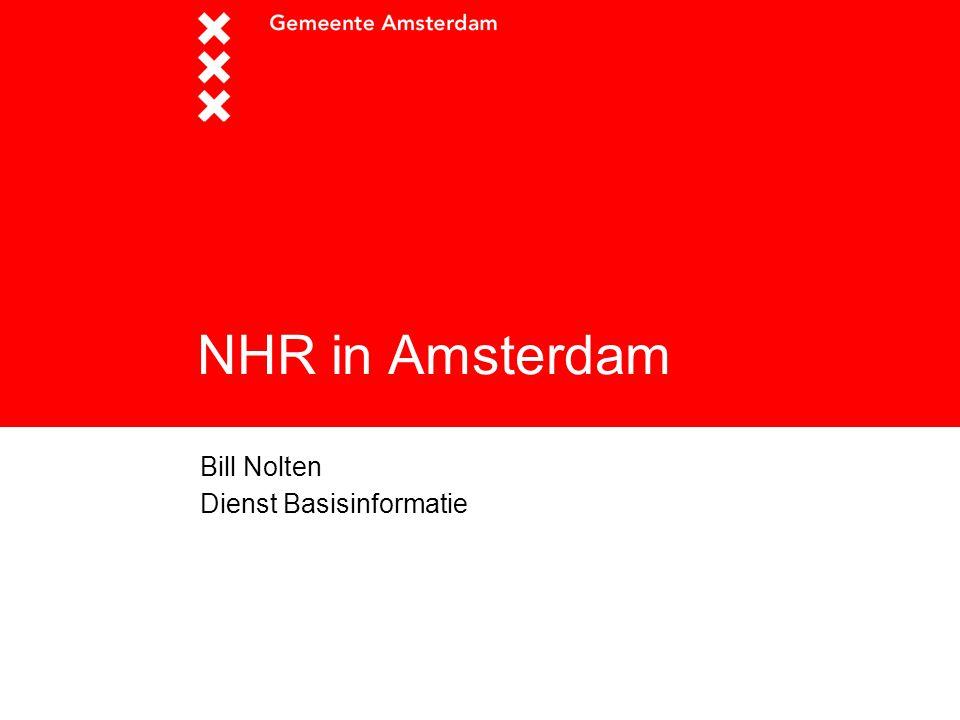 Titel presentatie Bill Nolten Dienst Basisinformatie