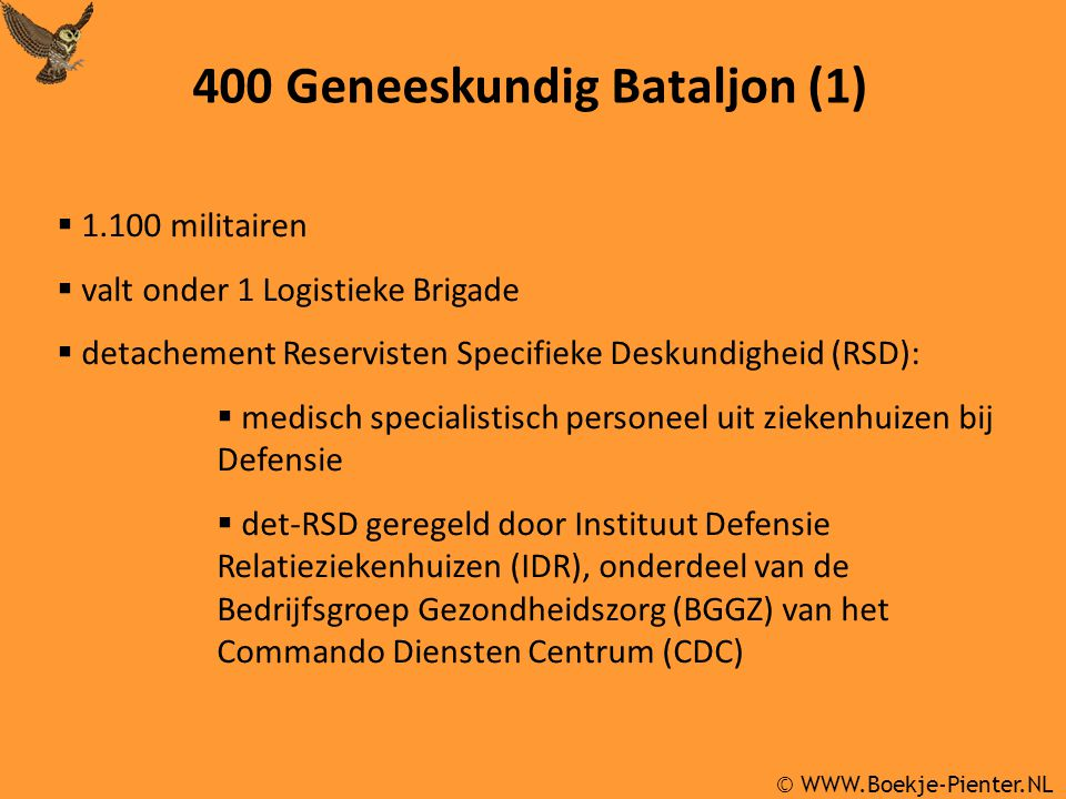 400 Geneeskundig Bataljon (1)