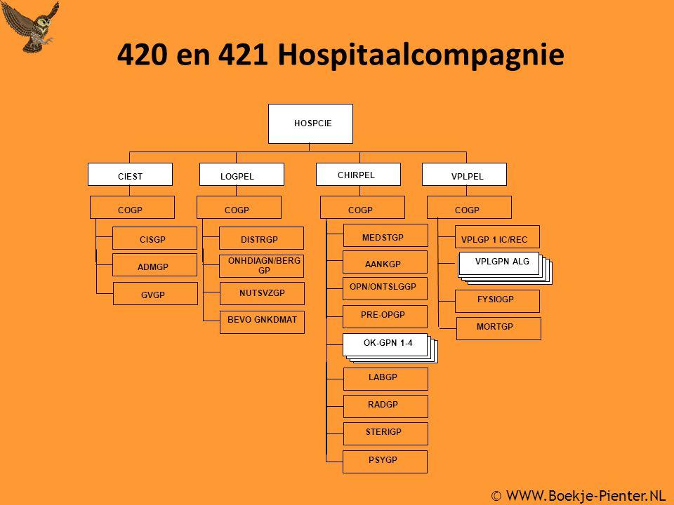 420 en 421 Hospitaalcompagnie