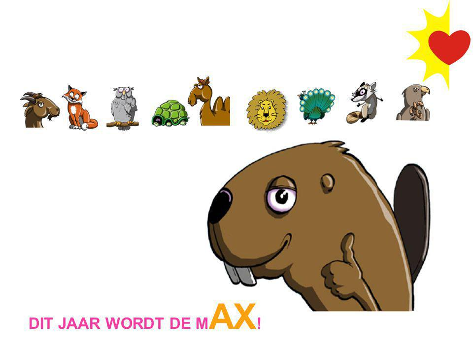 DIT JAAR WORDT DE MAX!