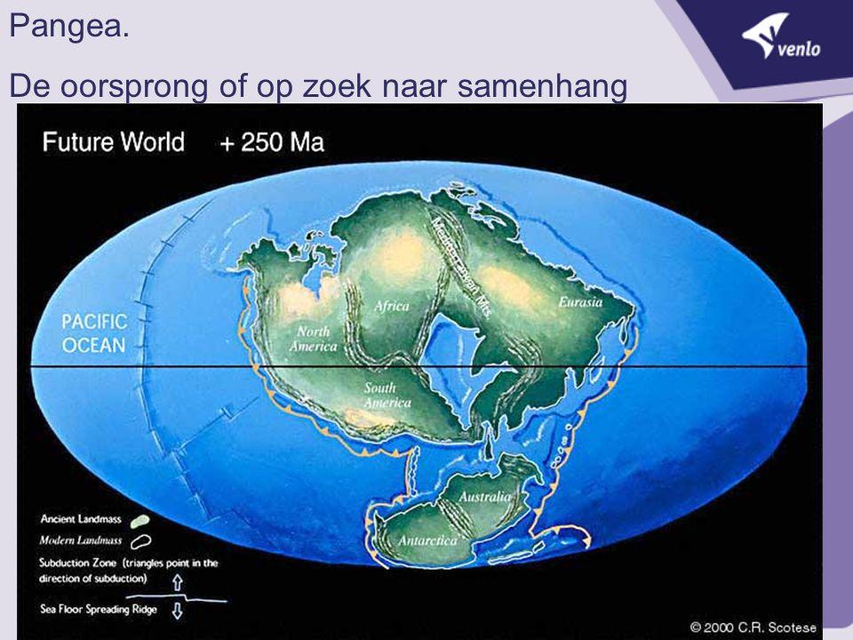 Pangea. De oorsprong of op zoek naar samenhang