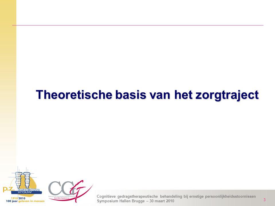 Theoretische basis van het zorgtraject