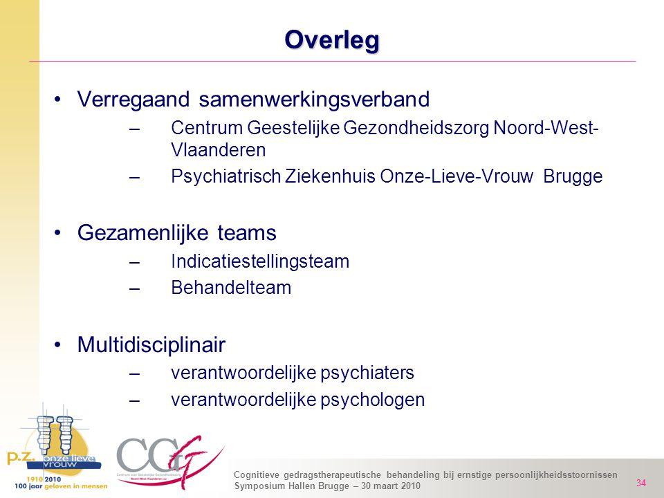 Overleg Verregaand samenwerkingsverband Gezamenlijke teams