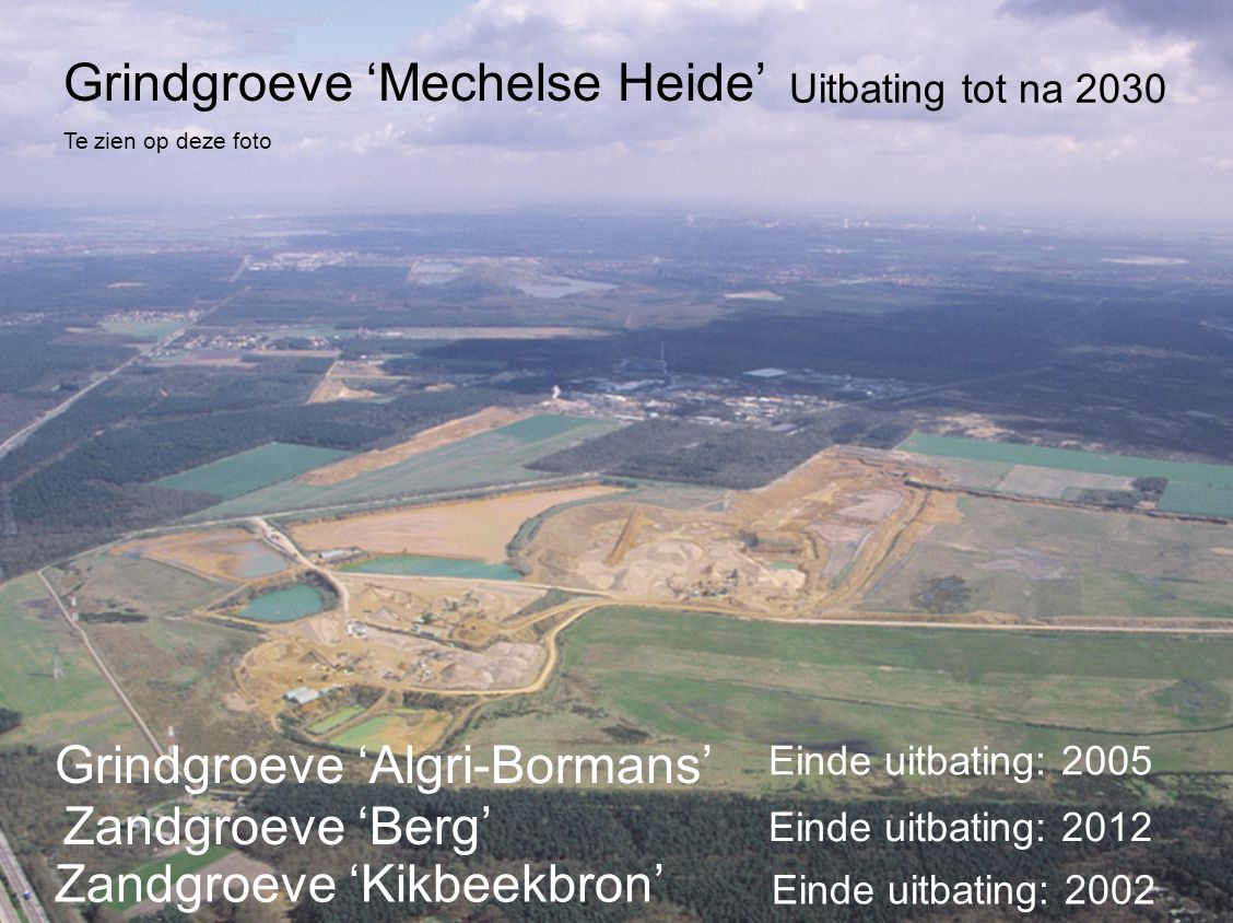 Grindgroeve 'Mechelse Heide'