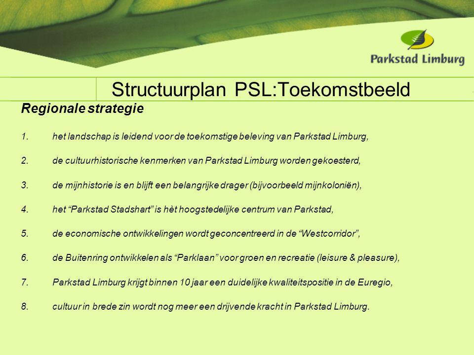 Structuurplan PSL:Toekomstbeeld