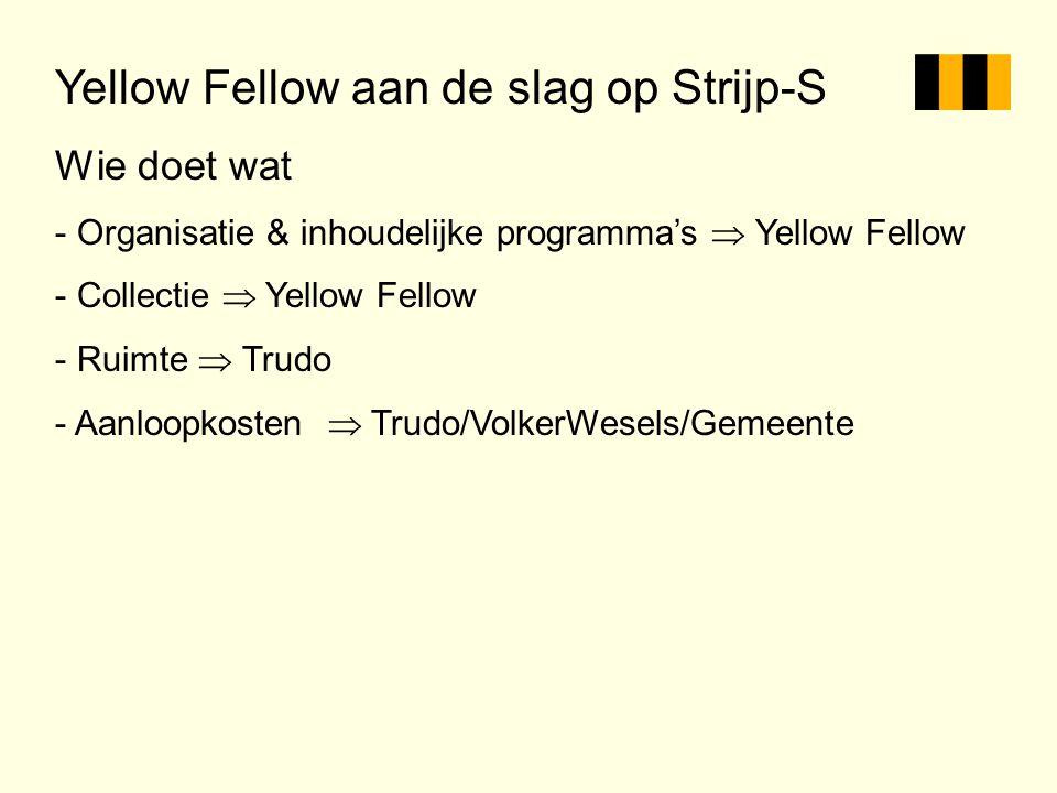 Yellow Fellow aan de slag op Strijp-S