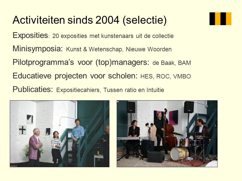 Activiteiten sinds 2004 (selectie)