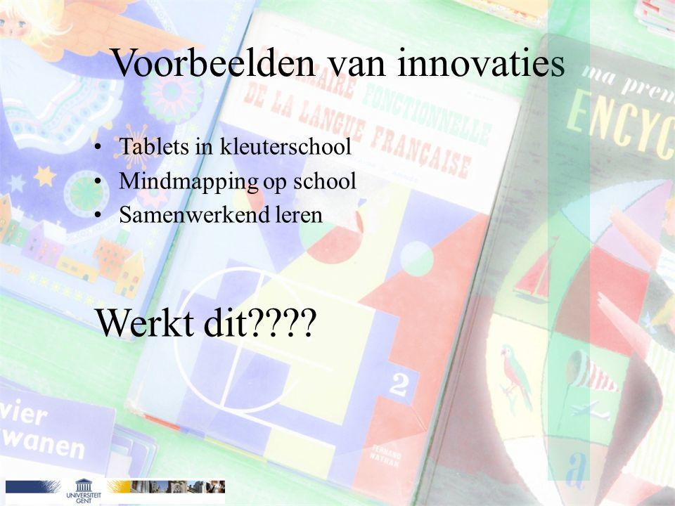 Voorbeelden van innovaties