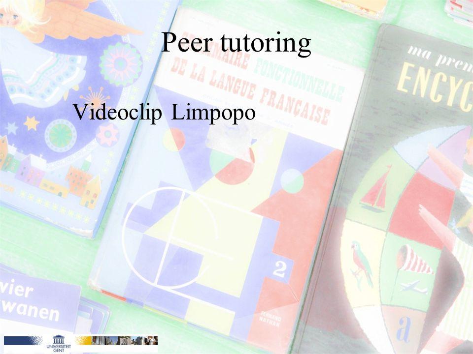 Peer tutoring Videoclip Limpopo