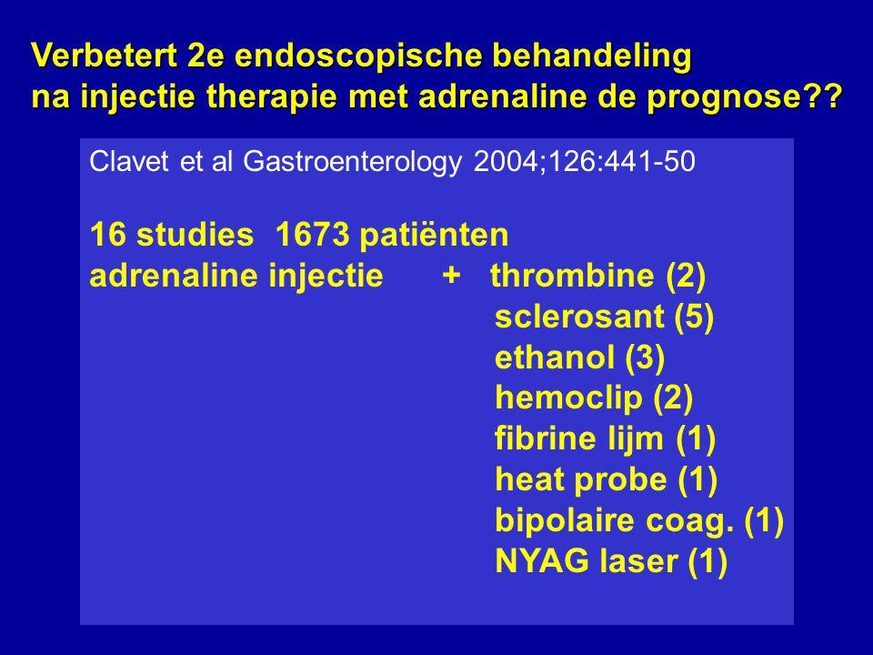 Verbetert 2e endoscopische behandeling