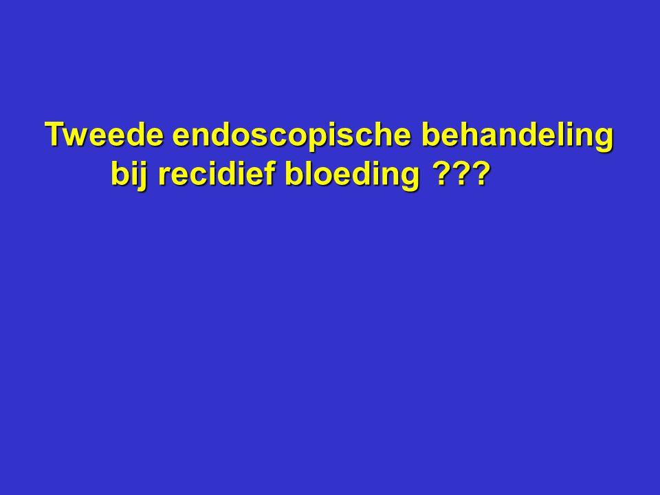Tweede endoscopische behandeling