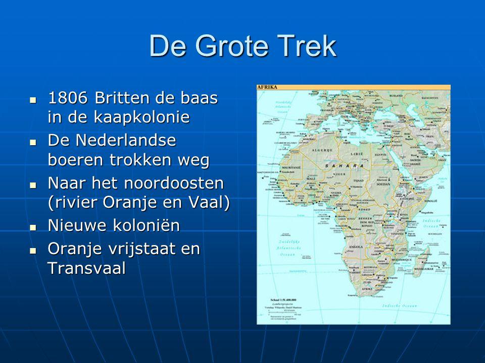 De Grote Trek 1806 Britten de baas in de kaapkolonie