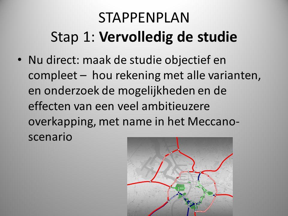 STAPPENPLAN Stap 1: Vervolledig de studie